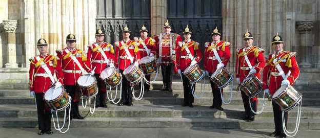 Yorkshire Volunteers Band - Corps of Drums