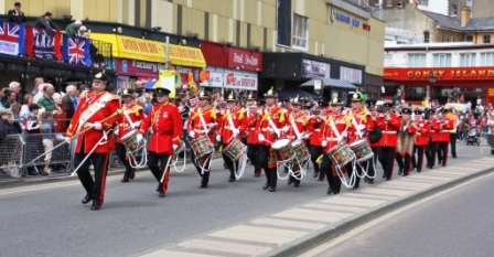 Yorkshire Volunteers Band - Military Marching Parade Band